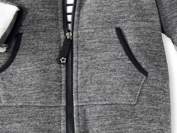 Overall aus Baumwolle und Schurwolle