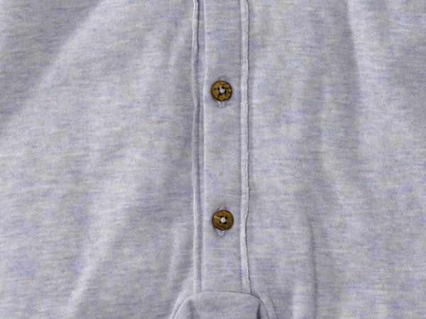 Overall aus Bio-Baumwolle mit Merinowolle