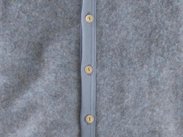 Overall aus Bio-Merinowolle mit Bio-Baumwolle