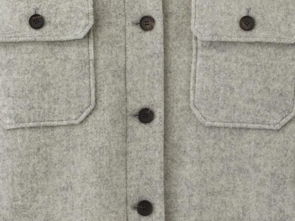 Overshirt Limited by Nature aus reiner Schurwolle