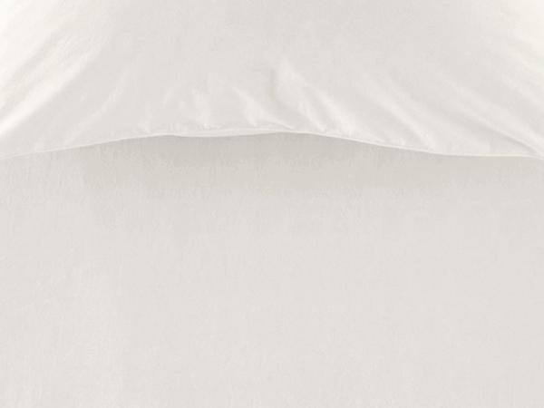 Perkal-Spannbettlaken aus reiner Bio-Baumwolle