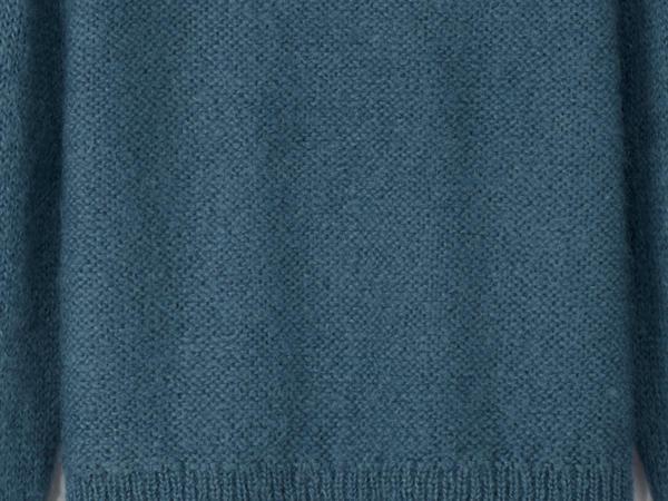 Pullover aus Mohair mit Schurwolle