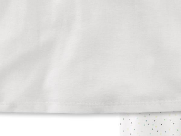 Pyjama für Mädchen aus reiner Bio-Baumwolle