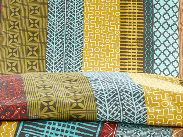 Renforcé-Bettwäsche Malawi aus reiner Bio-Baumwolle