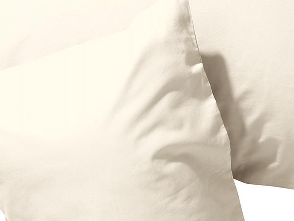Renforcé-Kissenbezug aus reiner Bio-Baumwolle