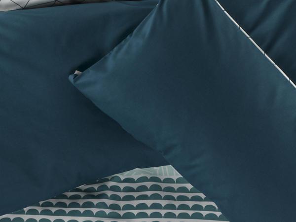 Renforcé-Wendebettwäsche Kidron aus reiner Bio-Baumwolle