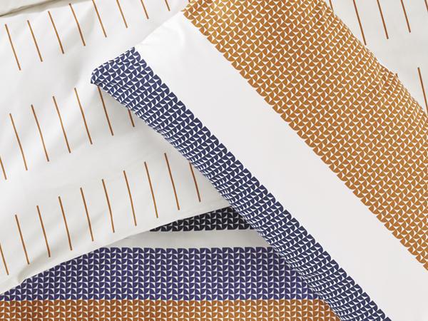 Renforcé-Wendebettwäsche Skagen aus reiner Bio-Baumwolle