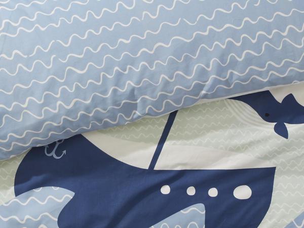 Renforce Wendebettwäsche aus reiner Bio-Baumwolle