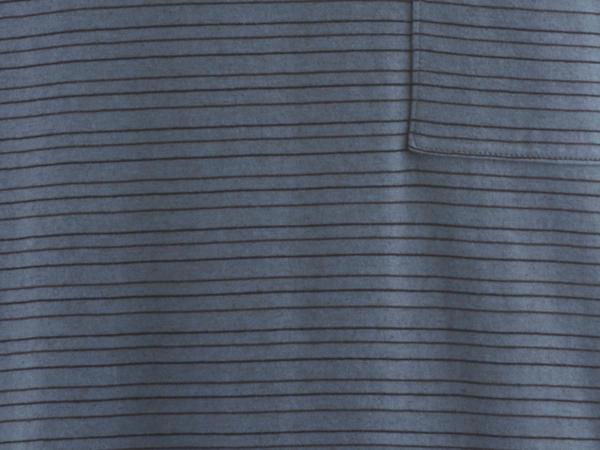 Ringelshirt aus Bio-Baumwolle mit Yakwolle