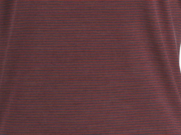 Ringelshirt aus Schurwolle mit Seide