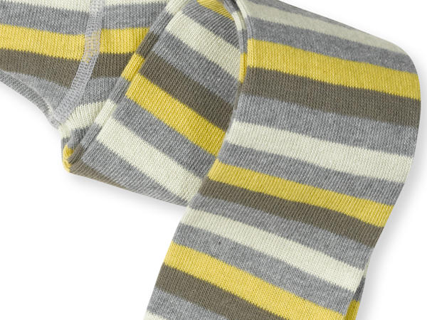 Ringelstrumpfhose aus Bio-Baumwolle