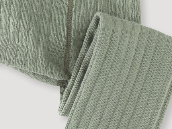 Ripp-Strumpfhose aus Bio-Baumwolle