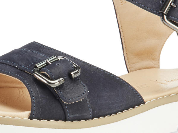 Sandalette aus chromfrei gegerbtem Leder