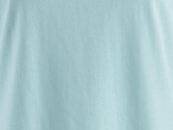 Schlafshirt aus Bio-Baumwolle mit Leinen