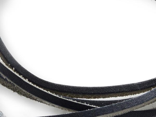 Schmaler Lederriemen zum Wickeln