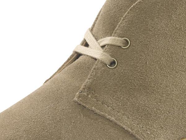 Schnürschuh aus chromfrei gegerbtem Leder