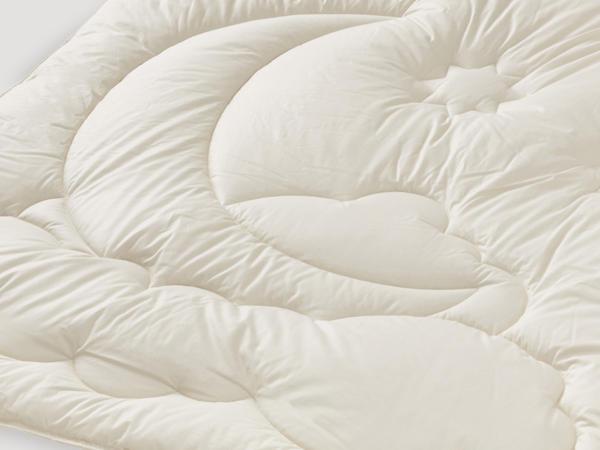 Seiden-Bettdecke