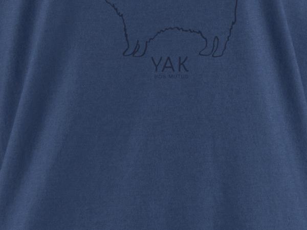 Shirt aus Bio-Baumwolle mit Yakwolle