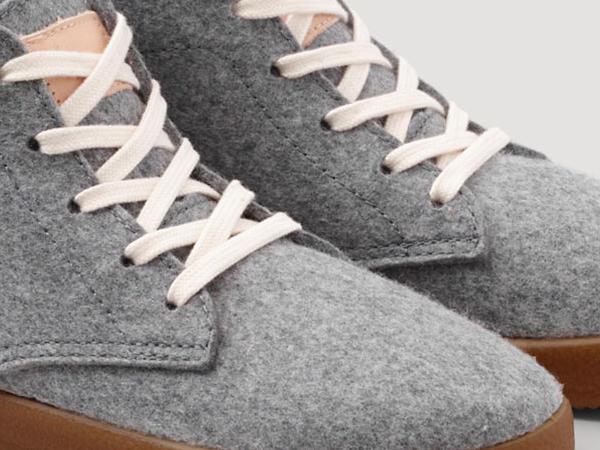 Sneaker Betterecycling aus Bio-Schurwolle