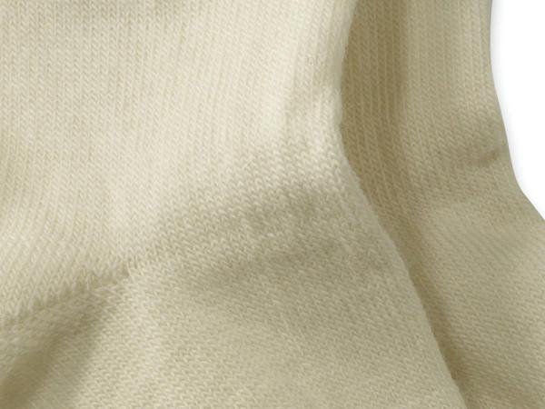 Socke aus Bio-Merinowolle mit Bio-Baumwolle