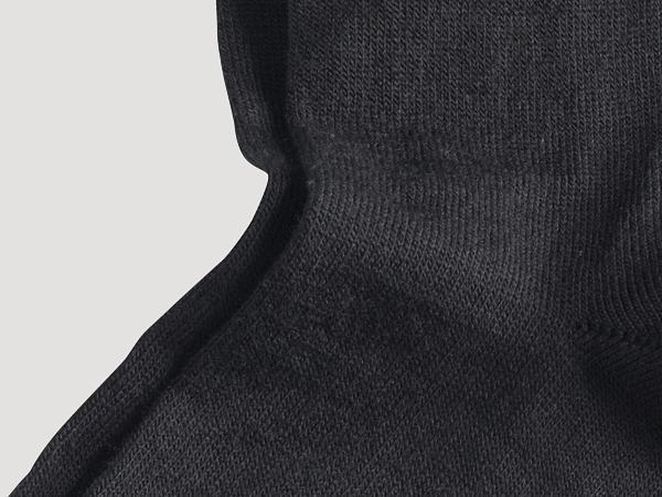 Socke aus Schurwolle mit Bio-Baumwolle