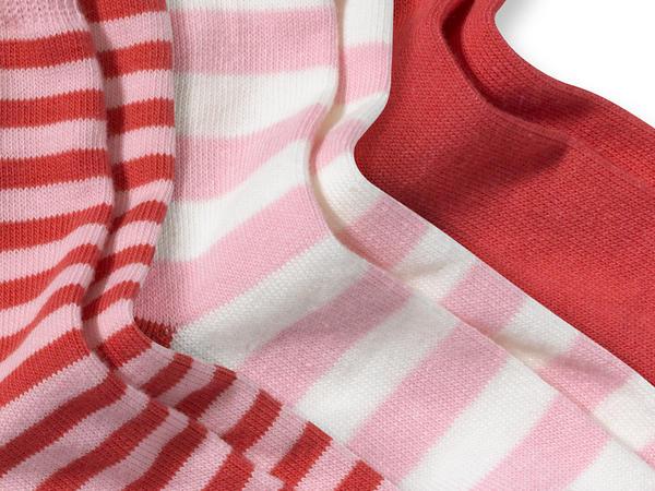 Socke im 3er-Pack aus Bio-Baumwolle mit Elasthan