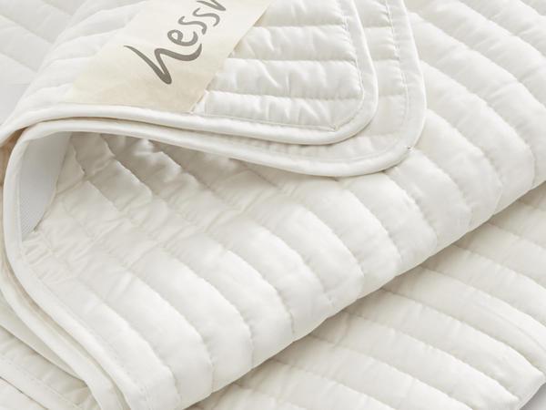 Sommer-Matratzenschoner aus reiner Bio-Baumwolle