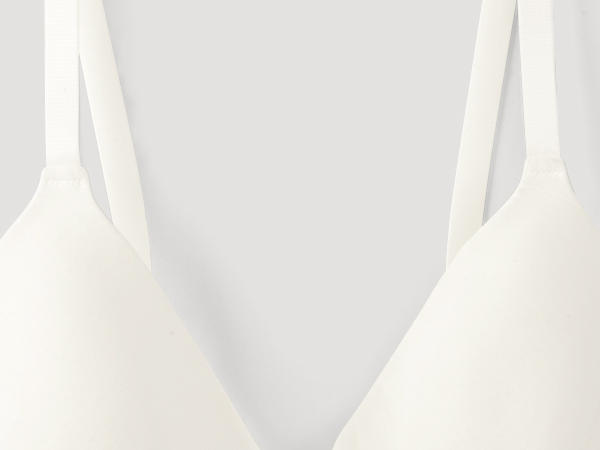Spacer bra with underwire made of organic cotton and TENCEL ™ Modal