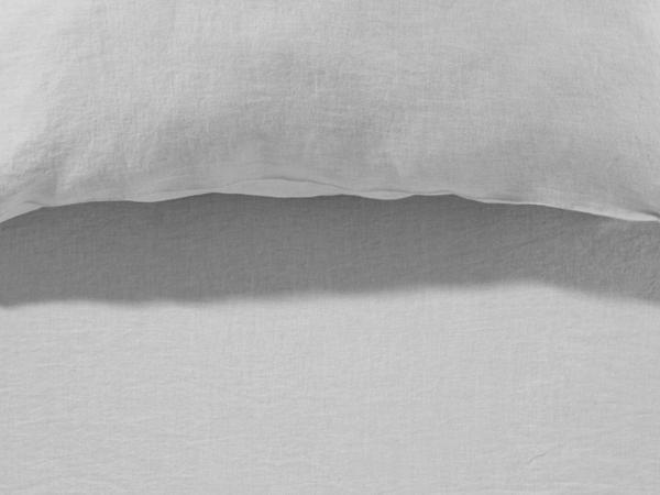 Spannbettlaken aus Bio-Leinen mit Bio-Baumwolle