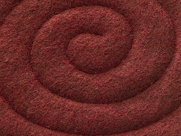 Square chair cushions made of pure new wool
