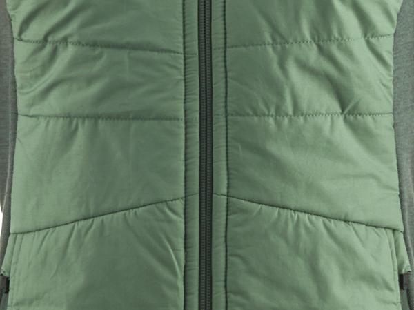 Stepp-Jacke aus Bio-Merinowolle mit Bio-Baumwolle