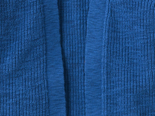 Strick-Cardigan aus reiner Bio-Baumwolle