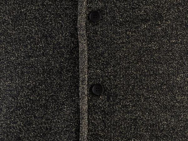 Strick-Janker aus Bio-Baumwolle mit Leinen und Seide