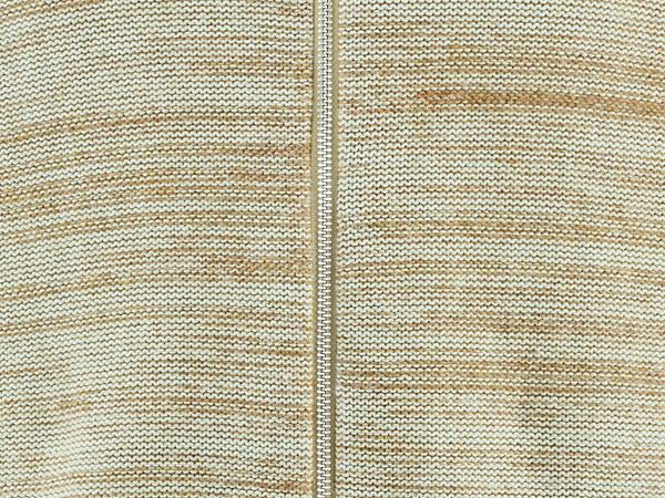 Strickjacke aus Alpaka und Bio-Baumwolle