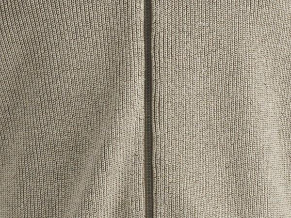 Strickjacke aus Bio-Baumwolle mit Leinen und Seide