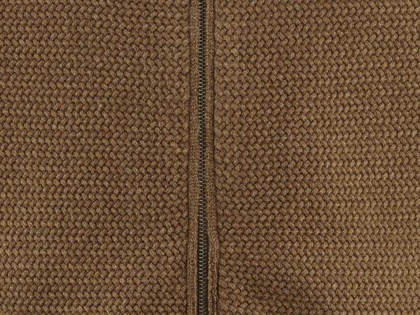 Strickjacke aus Bio-Baumwolle mit Yak