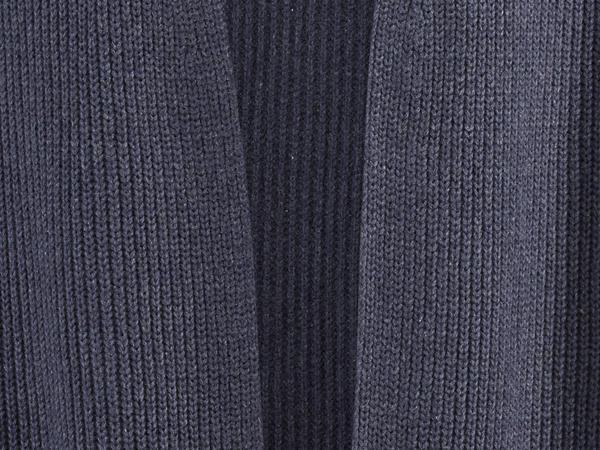 Strickjacke aus Bio-Baumwolle und Seide