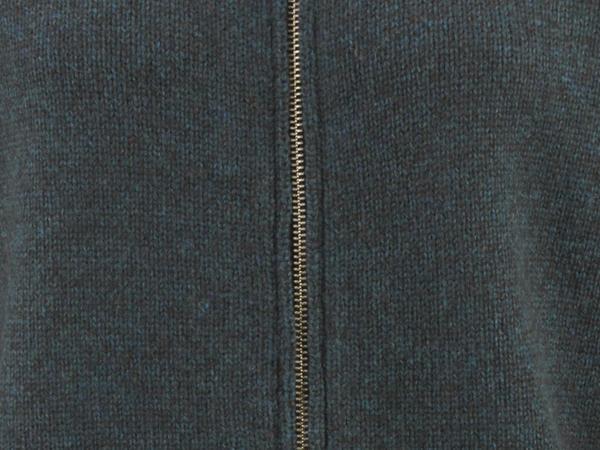 Strickjacke aus Schur- und Yakwolle
