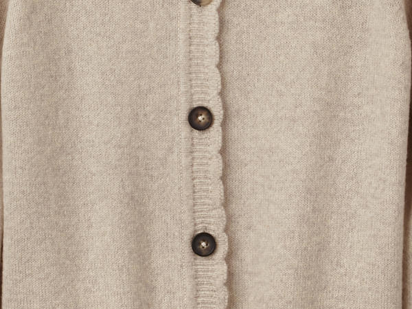 Strickjacke aus reiner Lambswool