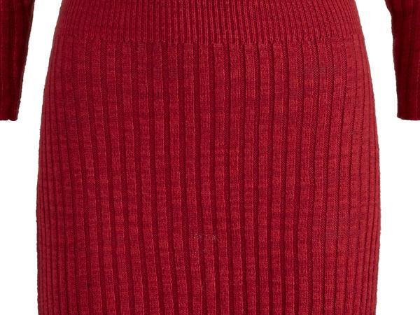 Strickkleid aus Leinen und Bio-Baumwolle