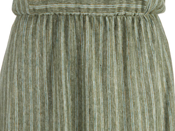 Striped dress made of pure linen