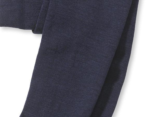 Strumpfhose aus Schurwolle mit Baumwolle