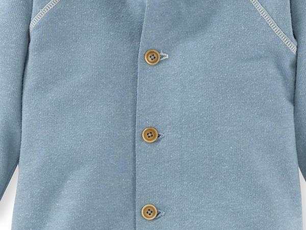 Sweat Overall aus Bio-Baumwolle mit Hanf und Schurwolle