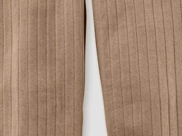 Sweathose mit Stepp-Optik aus reiner Bio-Baumwolle