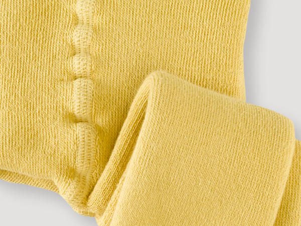 Terrycloth tights made of organic cotton