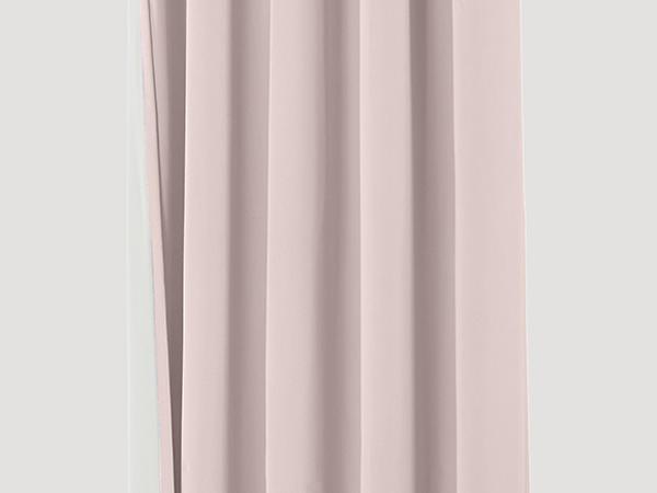 Thermo-Vorhang Neveres mit Faltenband aus reiner Bio-Baumwolle