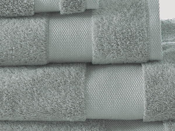Towel made from pure organic terrycloth