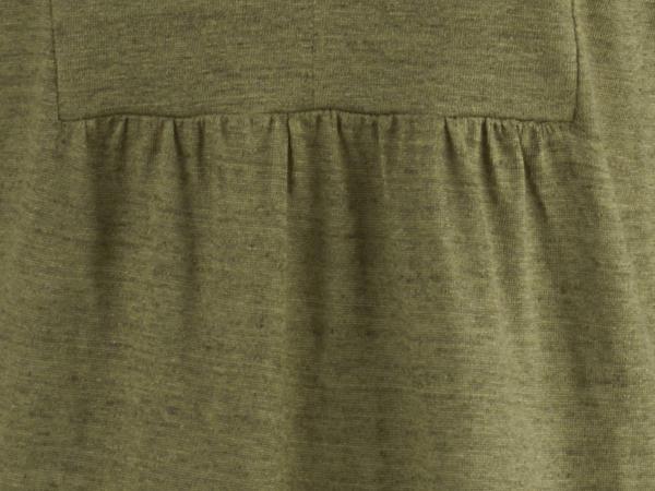 Tunika-Shirt aus reinem Leinen