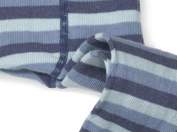 Unisex Ringelstrumpfhose aus Bio-Baumwolle