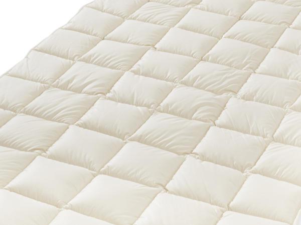 Unterbett mit reiner Bio-Schurwolle